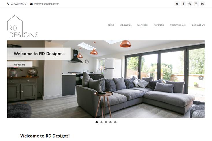 Nifty Bear Web Design Portfolio RD Designs 1