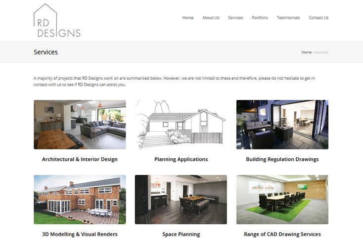 Nifty Bear Web Design Portfolio RD Designs 2