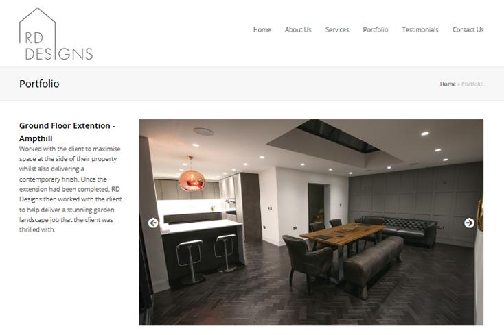 Nifty Bear Web Design Portfolio RD Designs 3